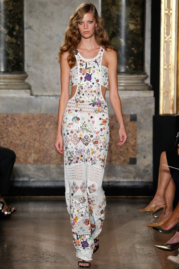 Outstanding Crochet: SS 2015 collection from Emilio Pucci