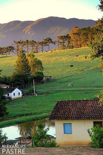 Região rural de Andradas, estado de Minas Gerais, Brasil.