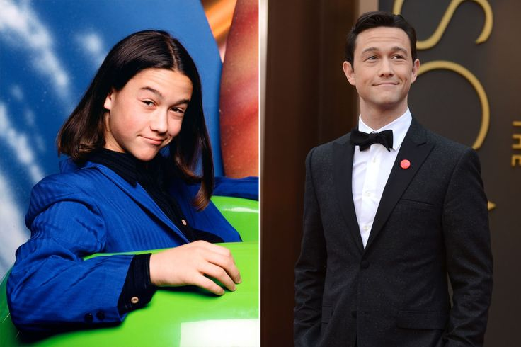 """GEEKY TO GORGEOUS CHILD STARS   2014   JOSEPH GORDON-LEVITT   After an unforgettable role as extraterrestrial posing as a human on """"3rd Rock from the Sun"""", he took a break from acting to attend Columbia University. 2004 he dropped out to return to acting, landing co-starring gigs alongside Leonardo DiCaprio and Daniel Day-Lewis. When he's not on set, he can be seen with girlfriend, robotics CEO, Tasha McCauley.  Alan Levenson/NBC/NBCU Photo Bank via Getty Images; Jordan Strauss/Invision"""
