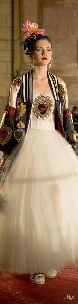 Fall 2017 Haute Couture Dolce & Gabbana Alta Moda
