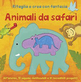 Uscite della settimana - IdeeAli - Animali da safari  http://www.ilcastelloeditore.it/catalogo.php?src=&page=1&id=8860235855  Autore: A.A.V.V. EAN: 9788860235855 Editore: IDEEALI Collana: LIBRI GIOCO Pagine: 12  Divertiti e usa tutta la tua fantasia con queste 15 sagome di animali e insetti riutilizzabili, in robusto cartoncino. Tanti progetti divertenti. Dai 5 anni.  € 10,50