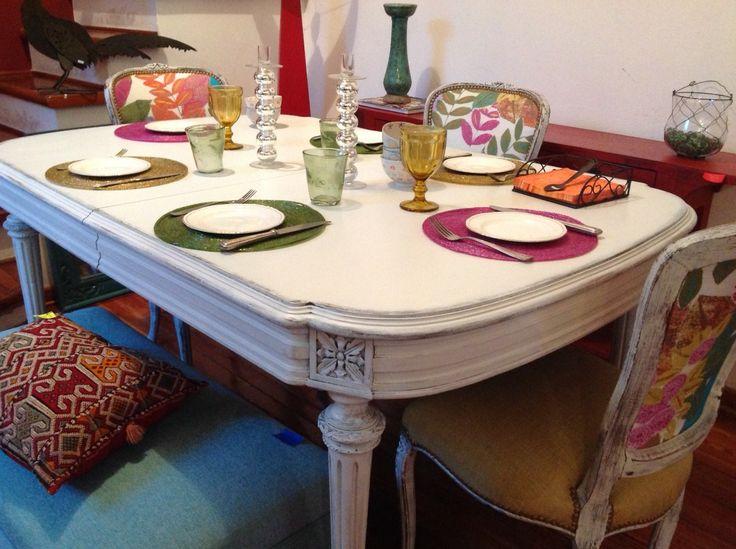 Mesa de comedor antigua oval tables pinterest tables - Mesas de comedor antiguas ...