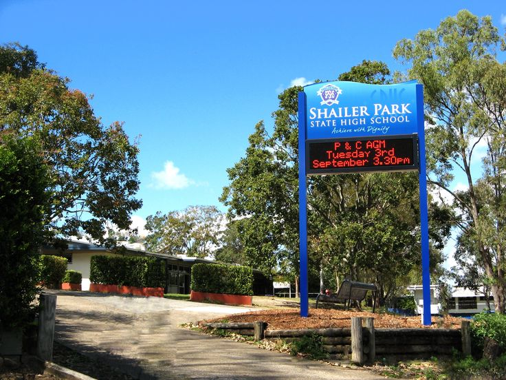 SHAILER PARK SECONDARY COLLEGE #LED #SCHOOL #SIGN #CSI #SIGNAGE