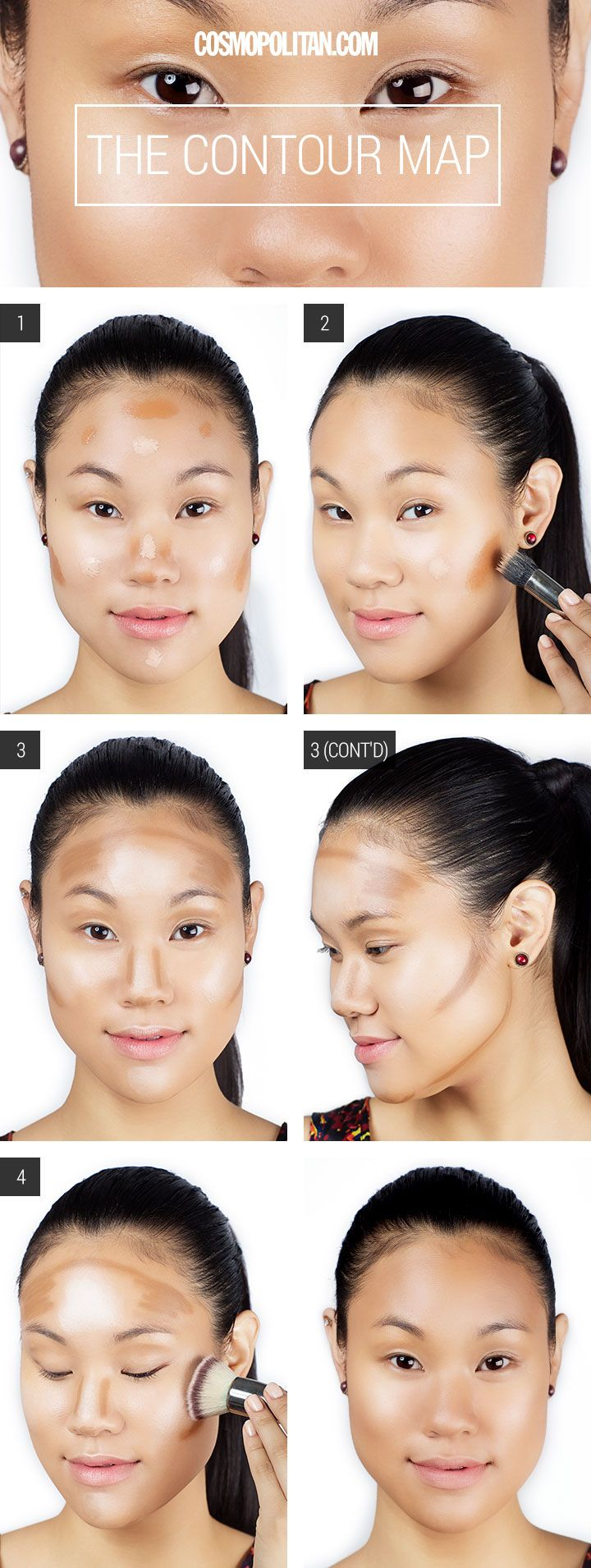 724 best contouring face images on pinterest make up looks makeup tutorial how to contour your face baditri Image collections