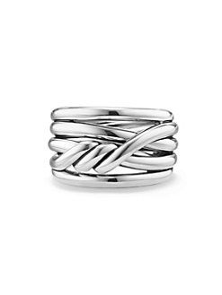 David Yurman - Continuance Ring in Sterling Silver