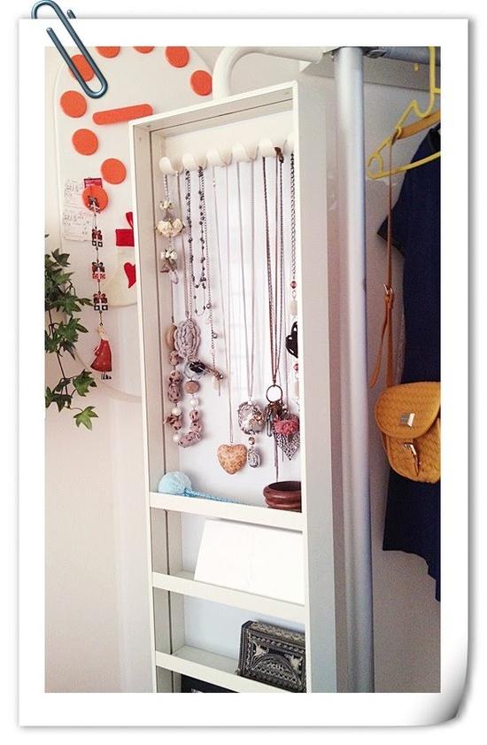 Para nuestra familia espejo joyero pared ikea - Espejos vintage ikea ...