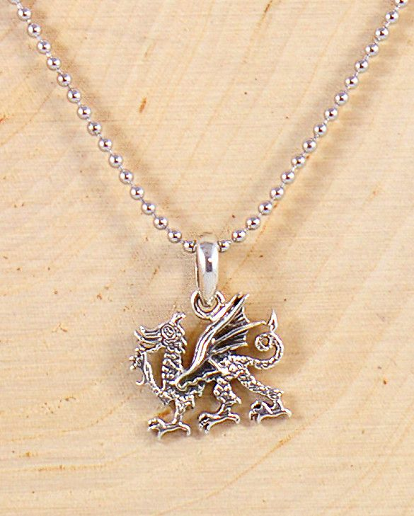 Dragon Necklace for Men in Sterling Silver - Forziani