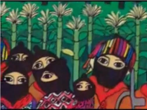 49 best images about latin american revolutionary art on for Mural zapatista