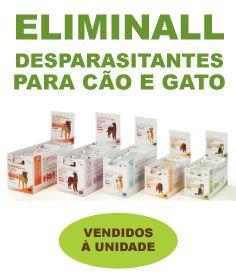Eliminall é indicado no tratamento e prevenção de infestações por pulgas e carraças em gatos, e ainda no tratamento da dermatite alérgica à picada da pulga em cães e gatos. Vendido em pipetas individuais.