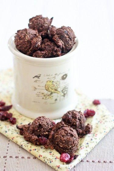 Carob Cranberry Pre-Workout Energy Drops | Recipe | Cranberries ...