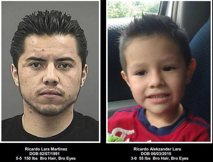 AMBER ALERT UPDATE - Denton Police are looking suspect Ricardo Lara Martinez... in connection to the disappearance of 4yr old Richard Lara.. CALL DENTON PD 940-349-7919 or 911 if you see him...