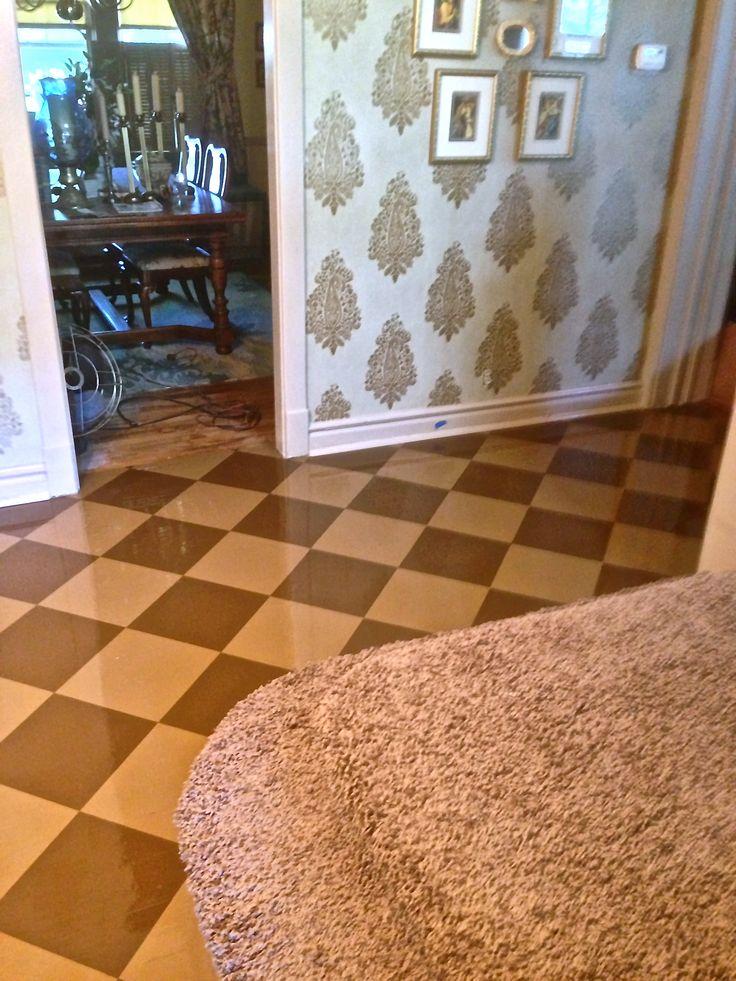 33 Best Floor Painted Tiles Images On Pinterest Tiles