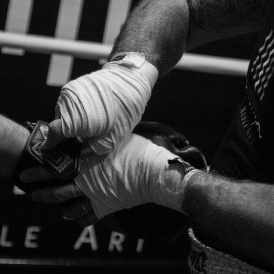 Cours de boxe au Temple