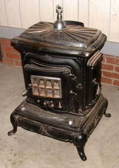 old wood cooking stoves | antiques antiques cast iron antique style wood burning parlor stove