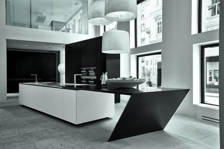 Milan_April 2014  Daniel Libeskind for Poliform|Varenna - Sharp Kitchen