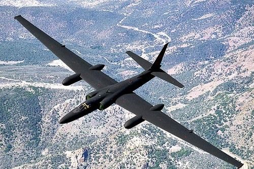 Lockheed U-2, nicknamed the 'Dragon Lady', a single engine, ultra high altitude (70,000 feet) reconnaissance aircraft operated by USAF, an all weather intelligence gathering aircraft.