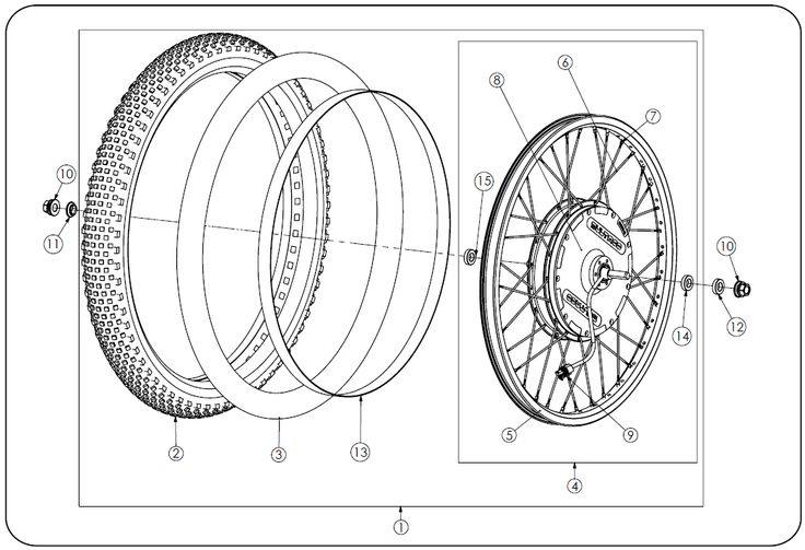 Brinco Rear Wheel