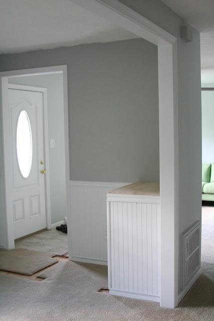 Pottery barn benjamin moore stonington gray hc 170 i like this gray color maybe for the for Stonington gray exterior paint