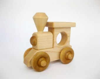 Wooden Toy Helicopter little wood kids toy by GreenBeanToys