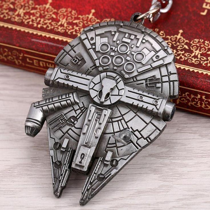 Star Wars Millennium Falcon Spaceship Keychains