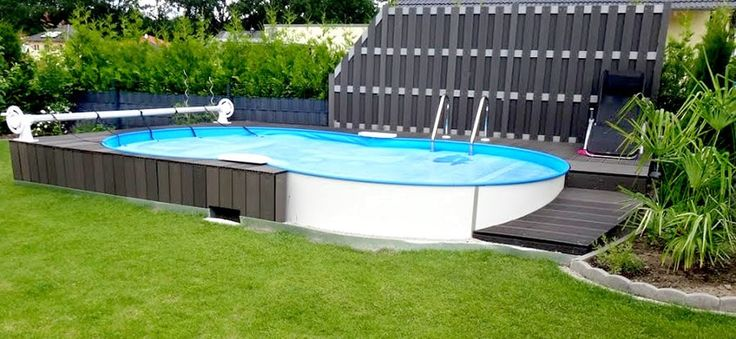 die besten 25 pool komplettset ideen auf pinterest stahlwandpool rund stahlwandpool. Black Bedroom Furniture Sets. Home Design Ideas