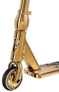 Team Dogz Scooters: Pro 4 Chrome Gold Stunt Scooter - NOW WITH 2017 Hollow core wheels #scooter #stuntscooter #gold #bling #teamdogz
