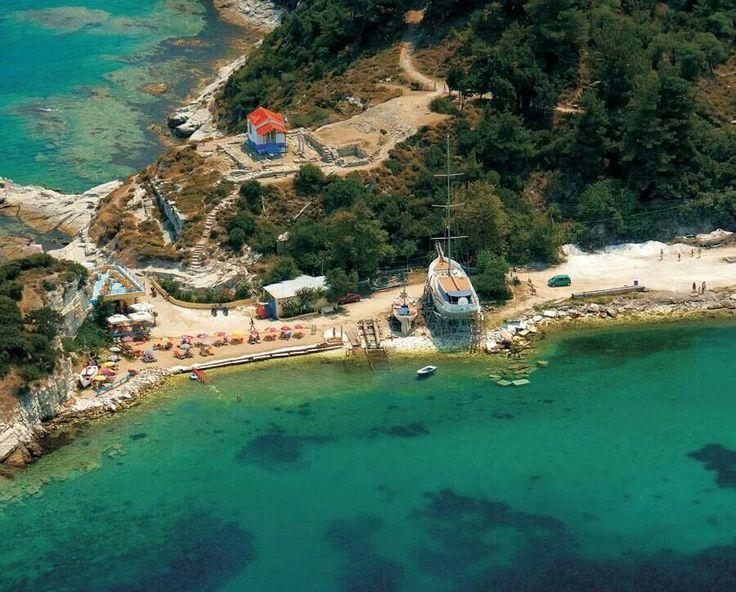Karnagio, at Limenas, Thassos island, Greece
