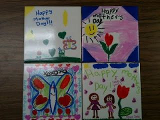 I've had my students make these tiles for the past several years. They are always a big hit!