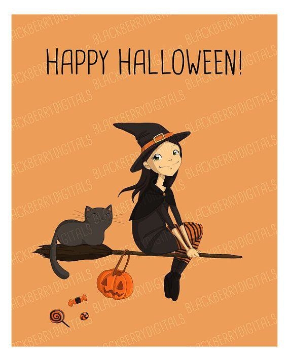 Halloween Card kawaii halloween card kawaii by BlackberryDigitals