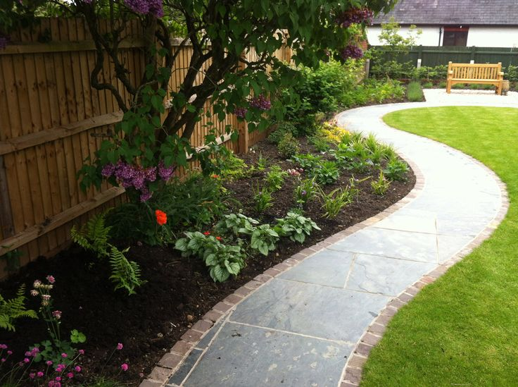 16 best images about small garden ideas north facing on for Landscape design for small garden