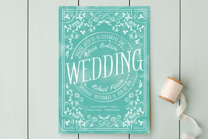 Let's Get Married by Chris Griffith at minted.com