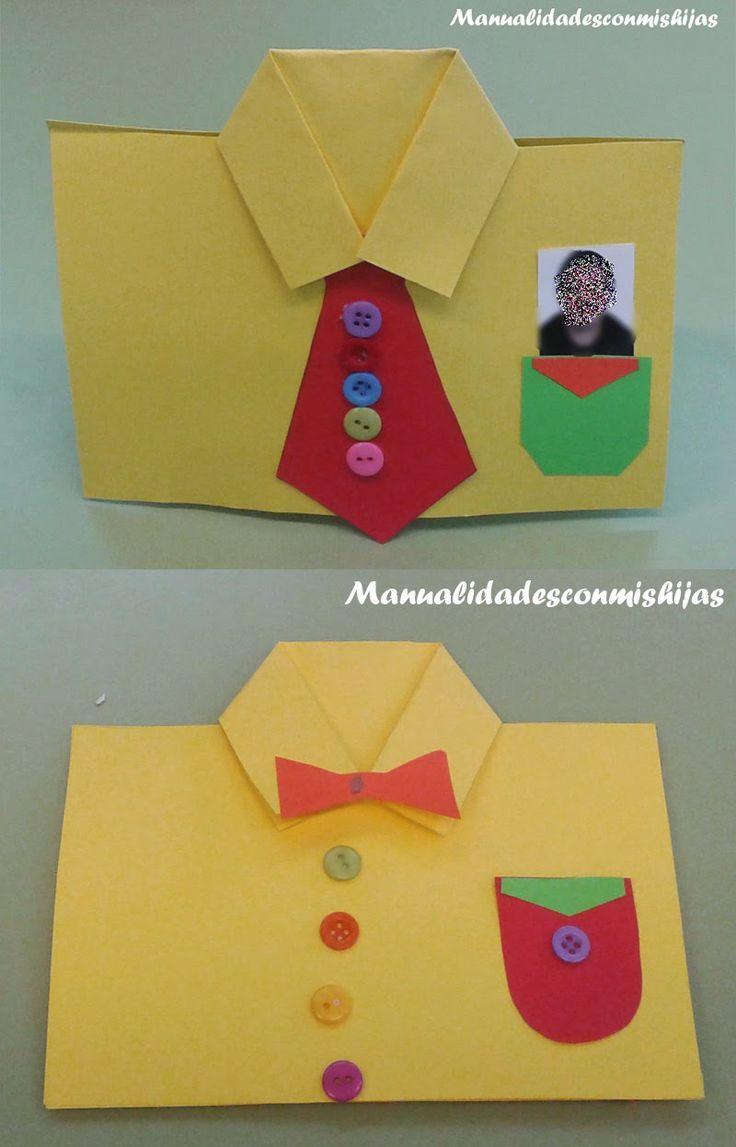 Camisa para el Día del padre (para infantil)