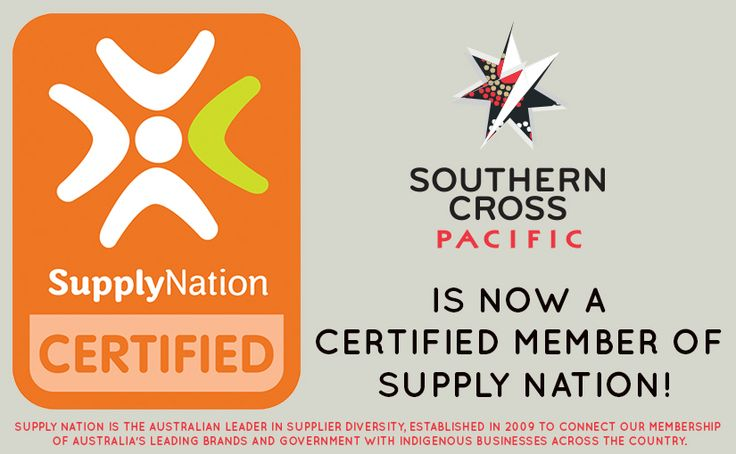 We are happy to announce that Southern Cross Pacific is now a Certified Member of Supply Nation, Australia's leading directory of Indigenous business and procurement. #indigenousbusiness