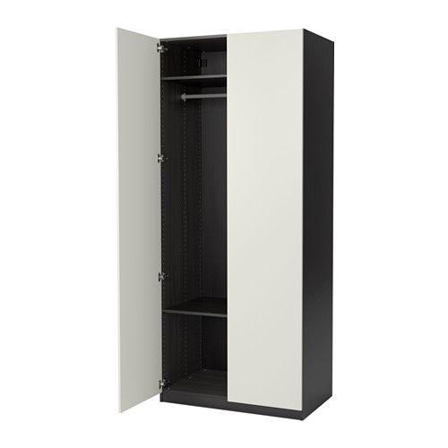 IKEA - PAX, Kleiderschrank, Scharnier, , Inklusive 10 Jahre Garantie. Mehr darüber in der Garantiebroschüre.Diese PAX/KOMPLEMENT Kombination lässt sich nach Wunsch und den häuslichen Gegebenheiten mit dem PAX Planer umgestalten.Die hierauf abgestimmte KOMPLEMENT Inneneinrichtung nutzt den Schrankraum optimal.Höhenverstellbare Fußkappen sorgen für Standfestigkeit auch bei leicht unebenem Boden.