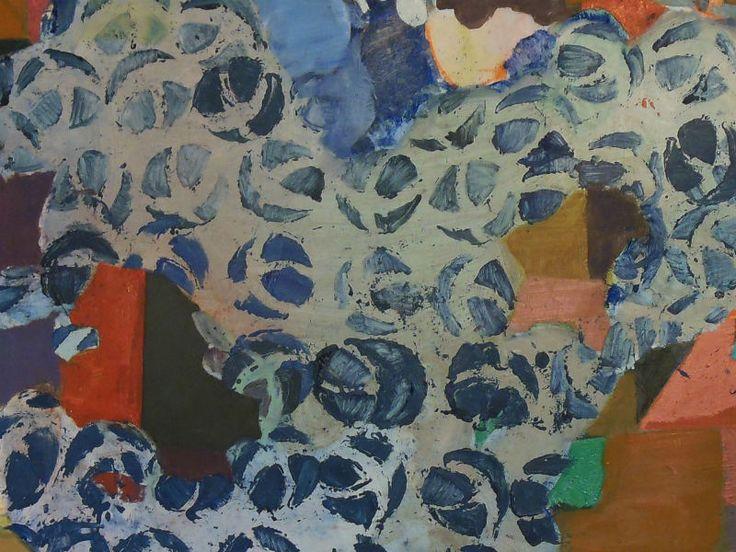 As relações entre figuração e abstração compõem as obras que ficam expostas na mostra individual de Cristina Canale.
