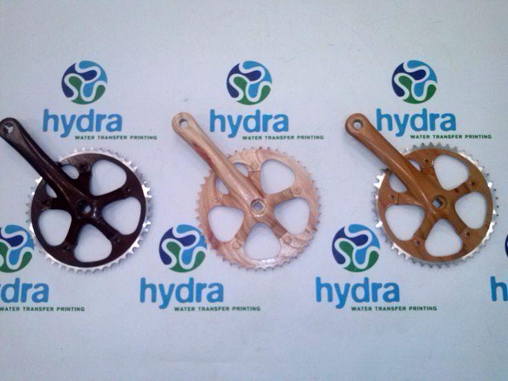 Disco de cadenas para bicicleta en madera