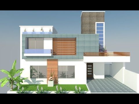 Modern House Front Elevation Designing In Google Sketchup