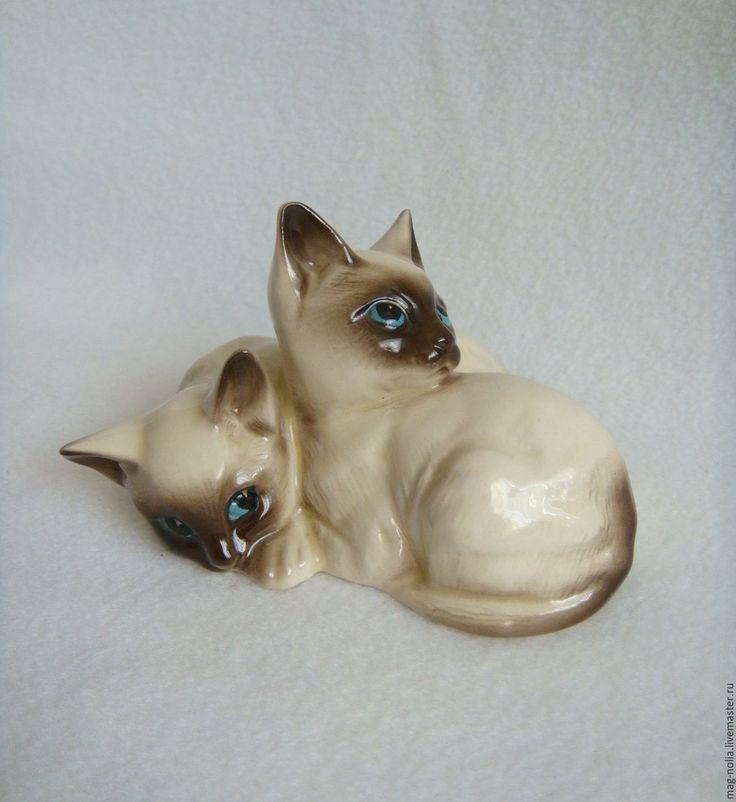 Купить Сиамские Котята Фарфор Beswick Англия 1960-е - фарфор великобритания, фарфор beswick