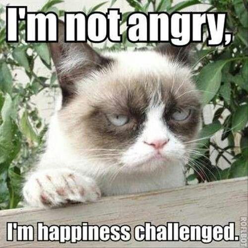 Ik ben niet boos