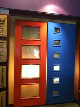 Mid2Mod -- A Trendspotting Guide to Interior and Exterior DOORS - midcentury - front doors -  Therma-Tru Pulse from Alliance Door Products