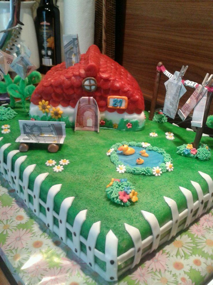 Hauseinweihnung cake