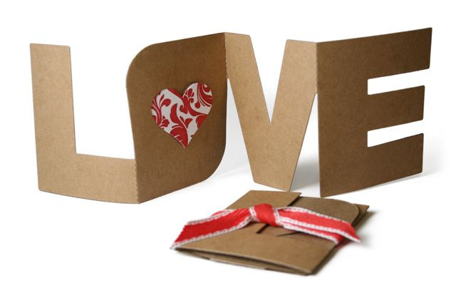 Folding cards. Perfect for your wedding invites (or valentine/anniversary cards)