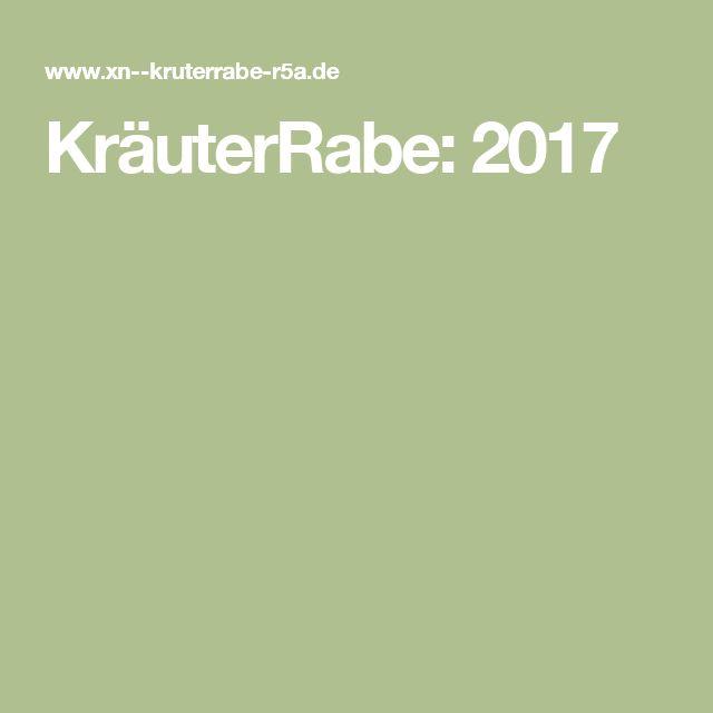 KräuterRabe: 2017
