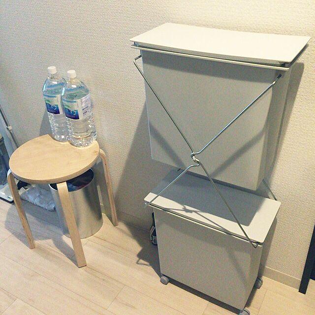 キッチン ゴミ箱 一人暮らし 無印良品 Ikeaのインテリア実例 2016 05