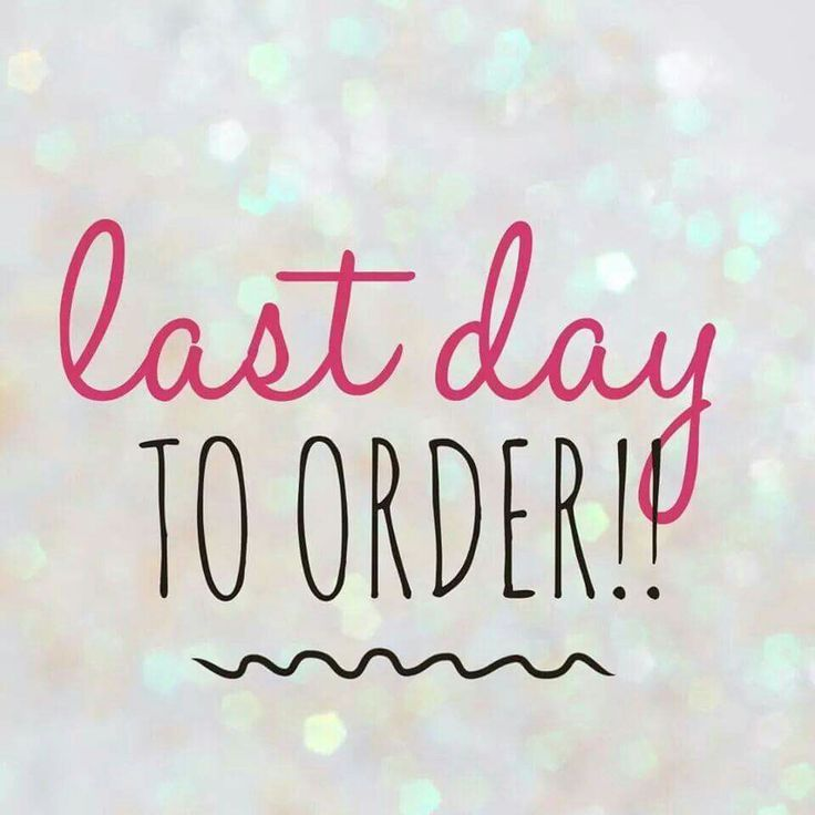 Last day to order in the Jamberry Party.                                                                                                                                                                                 More