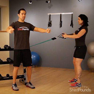 Learn some great exercise techniques from ShedPounds! Back Flyes: https://shedpounds.com/exercise/exercises/63