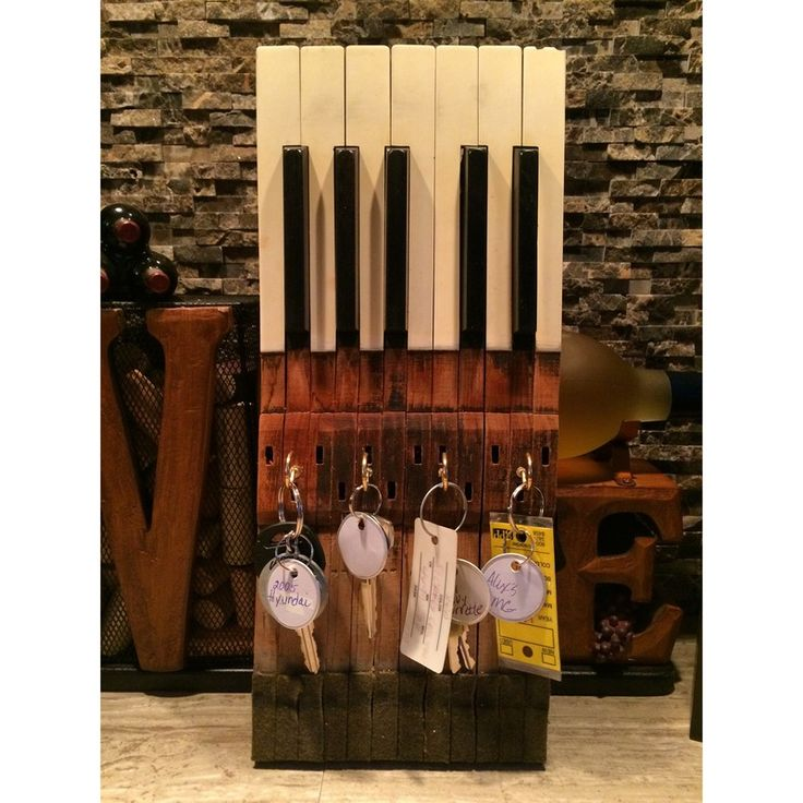 17 Best Images About Music In Key Of C On Pinterest: Repurposed Piano Keys - Google Search