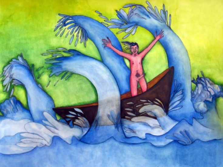 Alejandro Jodorowsky y Pascale Montandon-Jodorowsky son pascALEjandro. Las olas