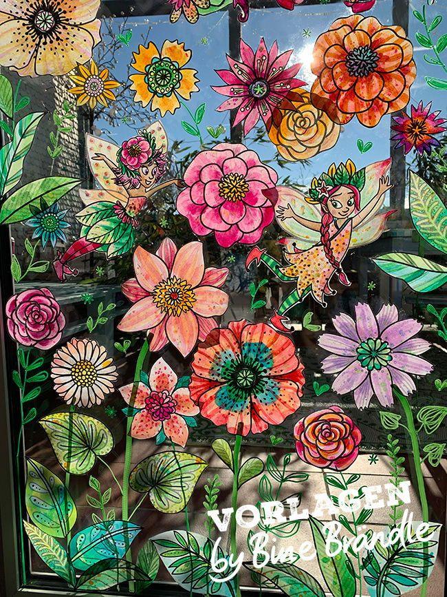 Zauberhafte Feen, Elfen und Blüten zum selber Basteln und Bemalen. Begrüße de...