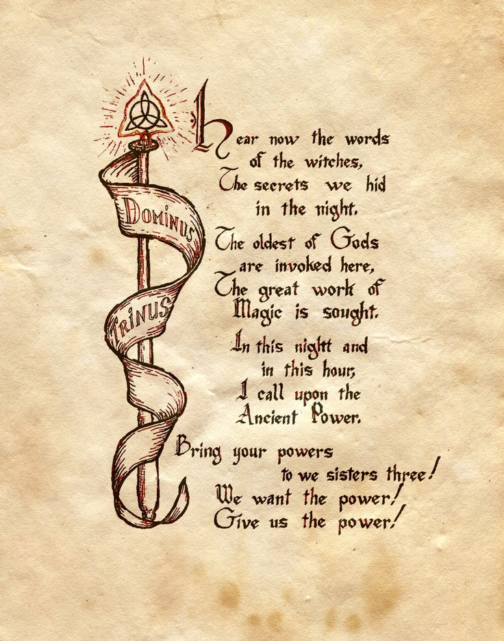 """""""Dominus Trinus"""" - Charmed - Book of Shadows                                                                                                                                                                                 More"""